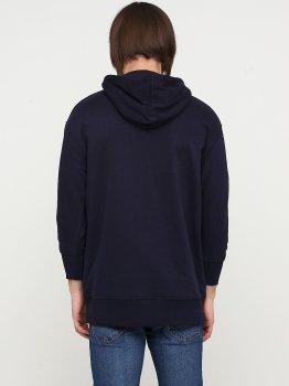 Худі H&M 0814511 Темно-синє