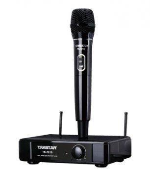 UHF бездротовий мікрофон Чорний Takstar TS-7210H (1573)