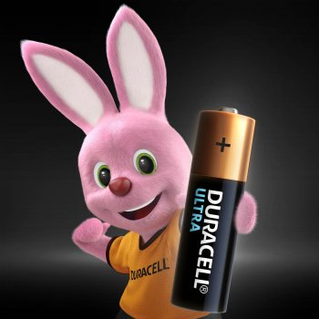 Щелочные батарейки Duracell Ultra Power AA 1.5В LR6 2 шт (5004803)(5000394058712)