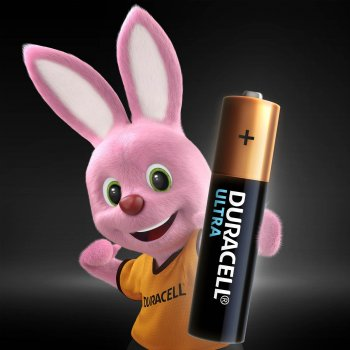 Щелочные батарейки Duracell Ultra Power AAA 1.5В LR03 2 шт (5004804)(5000394060425)