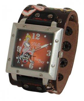 Часы унисекс NewDay Teen19b байкерские Hollywood