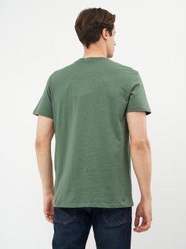 Футболка Calvin Klein Jeans Monogram Pocket Tee J30J317294-LDT Duck Green