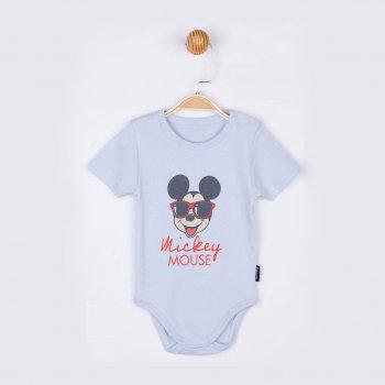 Боди-футболка Disney Mickey Mouse MC17198-2 Синяя