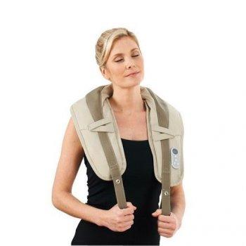 Постукивающий PRO массажер с прогревом для шеи Zenet ZET-756