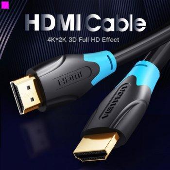 Кабель Vention HDMI-HDMI, 3 м v2.0 (AACBI) (43388040)