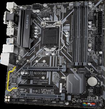 Материнська плата Gigabyte B365M D3H (s1151, Intel B365, PCI-Ex16)