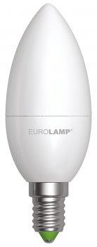 Светодиодная лампа EUROLAMP CL 6W E14 3000K (LED-CL-06143(P))