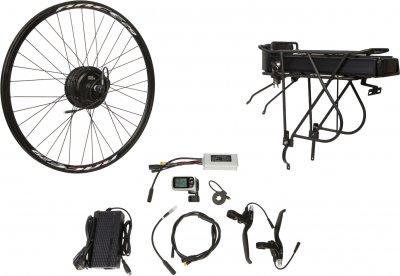 "Електричний велонабір на багажник Velotrade Мотор-колесо 27.5"" задній редуктор 500 Вт 48 В 12.5 А·год 20 A (ELBK-070)"