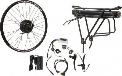 "Електричний велонабір на багажник Velotrade Мотор-колесо 29"" задній редуктор 350 Вт 36 В 12.5 А·год 17 A (ELBK-066)"