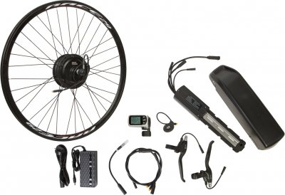 "Електричний велонабір на раму Velotrade Мотор-колесо 27.5"" задній редуктор 500 Вт 48 В 12.5 А·год 20 A (ELBK-060)"