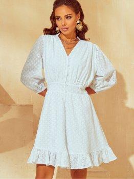 Платье Dressa 53790 Белое