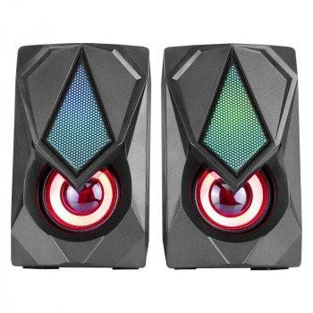 Колонки для ПК Xtrike SK-402 BK Wired Speaker с подсветкой Black