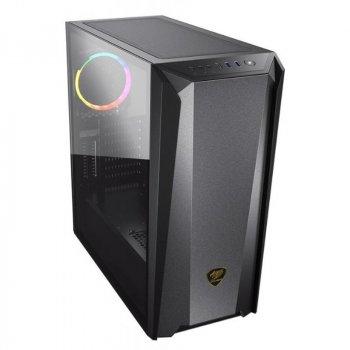 Корпус Cougar MX660 Iron RGB Dark Black без БП