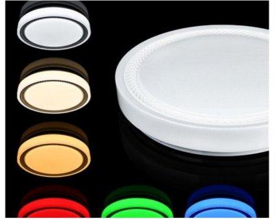 Світлодіодний світильник Biom SMART SML-R19-80-RGB. 80Вт+16Вт RGB с д/у +APP