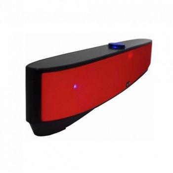 Мощная портативная акустическая стерео колонка (акустическая система) Hopestar MLL-209 Bluetooth USB FM Красная