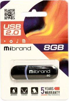 Mibrand Panther 8GB USB 2.0 Black (MI2.0/PA8P2B)