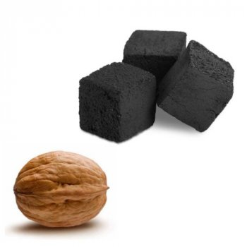 Уголь для кальяна WUGIL gold из ореховой скорлупы 1,1 кг vugo