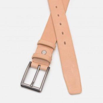 Ремень кожаный Sergio Torri 16-0070/35 беж 130-135 см Бежевый (2000000023243)