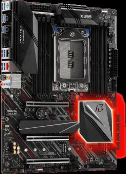 Материнська плата ASRock X399 Phantom Gaming 6 (sTR4, AMD X399, PCI-Ex16)