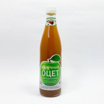 Уксус яблочный натуральный Адамовка 4% нефильтрованный непастеризованный