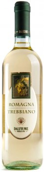 Вино Dalfiume Trebbiano Romagna DOP біле сухе 0.75 л 12% (8008501000101)