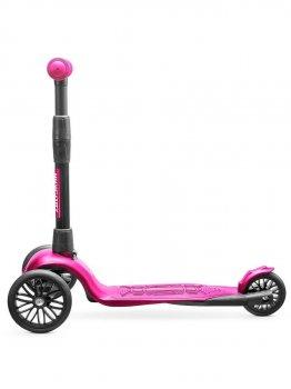 Самокат !Зухвалий безшумне Super-CHASSIS 3 роки гарантії, триколісний (3-колесний) дитячий, рожевий