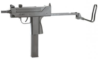 Пневматичний пістолет KWC Mini Uzi KM-55 HN Міні Узд пластик газобалонний CO2 120 м/с