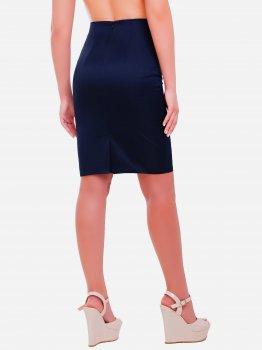 Юбка Fashion Up YUB-1052B Темно-синяя