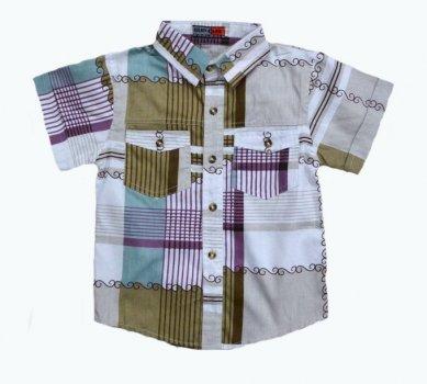 Сорочка для хлопчика SUBTLETY 05 різнобарвний