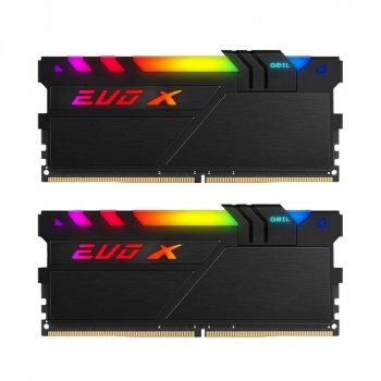 DDR4 8GB/3000 Geil EVO X II Black RGB LED (GEXSB48GB3000C16ASC)