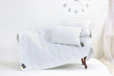 Набір антиалергенний MirSon EcoSilk Всесезонний №1503 Eco Light White Soft Ковдра + подушки 50x70 2 шт. (2200003480528)