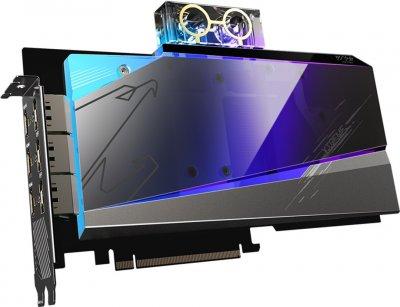Gigabyte PCI-Ex GeForce RTX 3080 Aorus Xtreme Waterforce WB 10GB GDDR6X (320bit) (1710/19000) (3 х HDMI, 3 x DisplayPort) LHR (GV-N3080AORUSX WB-10GD v2.0)