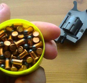 Патрон Флобера DYNAMIT Flobert Cartridges кал. 4 мм lang (Long) куля - ball №7 (свинцева кулька). Упаковка 100 шт. 12070101