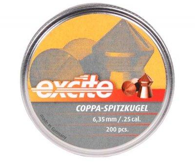 Пули пневматические (для воздушки) 4,5мм 0,49г (500шт) H&N Coppa Spritzkugel. 14530176