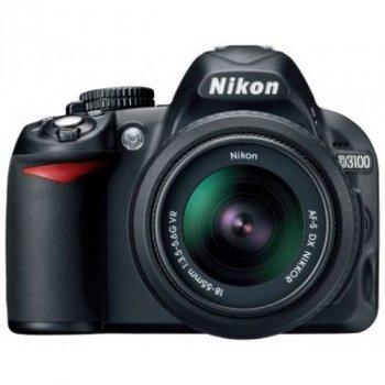 Дзеркальний фотоапарат Nikon D3100 kit 18-55