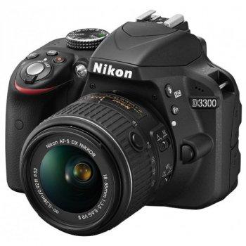 Nikon D3300 Kit 18-55mm VR AF-P Black