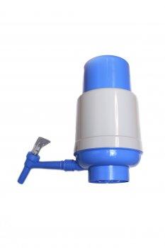 Помпа розумна на бутель 19 л для води Lilu Econom непроливайка механічна