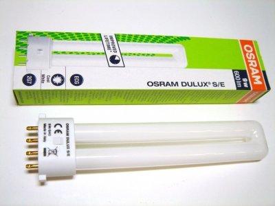 Лампа Osram DULUX S/E 9W/840 2G7 компактная люминесцентная