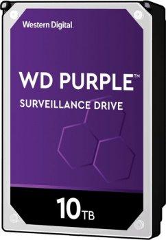 Жесткий диск Western Digital Purple 10TB 7200rpm 256MB WD102PURZ 3.5 SATA III
