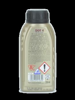 Жидкость тормозная K2 TURBO DOT 4 BRAKE FLUID 0,25л (T124)