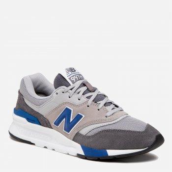 Кроссовки New Balance 997 CM997HVA Серые с голубым