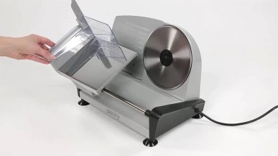 Компактный слайсер ломтерезка Camry CR 4702