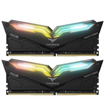 Модуль памяти Team DDR4 32Gb (2x16) T-Force Night Hawk RGB Black 3200 MHz (TF1D432G3200HC16CDC01)