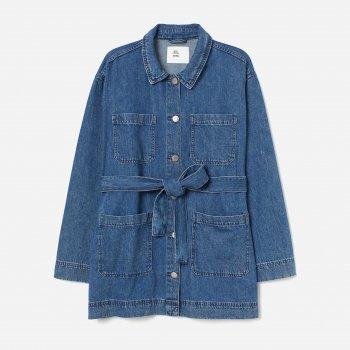 Куртка джинсовая H&M 2704-8442561 Синяя