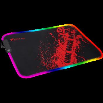 Коврик для мыши с RGB подсветкой коврик для мышки XTRIKE ME MP-602 350*250*3мм
