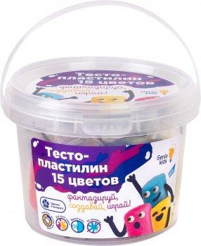 Набор для детской лепки Genio Kids Тесто-пластилин 15 цветов (TA1066) (4814723001178)