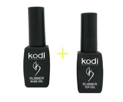 Набор Rubber Base Kodi и Rubber Top Kodi 8 мл
