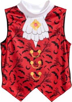 Жилет Дракулы H&M 5192206 110-116 см Красно-черный (hm05381522624)