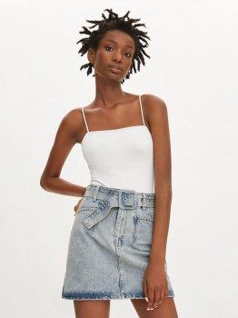 Спідниця джинсова Zara 6045/251/400-ACWM Світло-блакитна