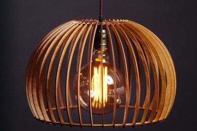Люстра деревянная Wood Сонце 42/29 см